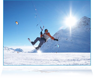 MISTER snowkiting
