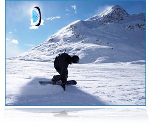 BASIC Snowkiting